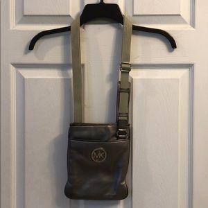 MICHAEL Michael Kors silver leather purse